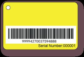 Barcode-card